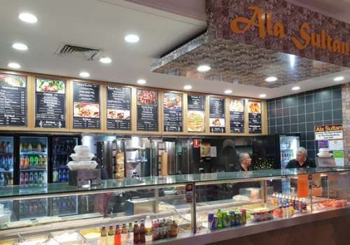 Grab a kebab 'to go' from Ala Sultan
