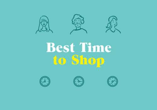 Best time to shop